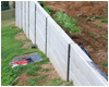 industrial retaining wall