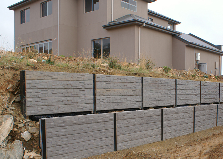 Creative sleepers concrete sleepers retaining walls for Retaining wall contractors adelaide